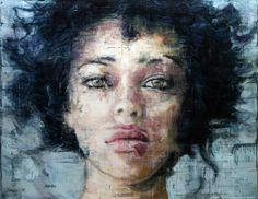Stunning Oil Portraits,2013 by Harding Meyer (Brazil, b. 1964)
