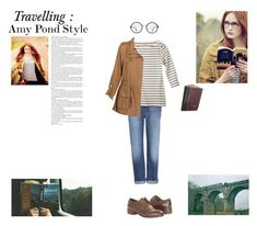 """Amy Pond Style"" by silly-stegosaurus ❤ liked on Polyvore featuring McQ by Alexander McQueen"