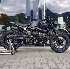 R ninet big foot R Nine T Scrambler, Scrambler Custom, Scrambler Motorcycle, Motorcycle Equipment, Retro Motorcycle, Cafe Racer Motorcycle, Cafe Racer Tank, Cafe Racer Bikes, Bike Bmw