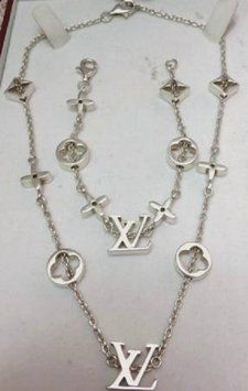 Authentic Louis Vuitton Limited Edition Silver Necklace/Bracelet. Get the lowest price on Authentic Louis Vuitton Limited Edition Silver Necklace/Bracelet and other fabulous designer clothing and accessories! Shop Tradesy now