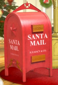 32 Best Christmas Santa Mailbox Images Christmas Decorations Diy