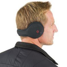 The Wireless Speaker Ear Warmers - Hammacher Schlemmer