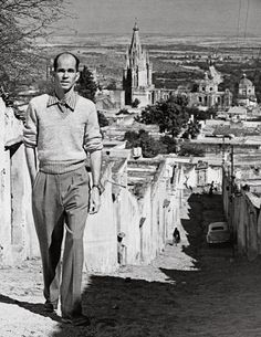 Stirling Dickinson, San Miguel de Allende, Mexico, Instituto Allende, Vintage