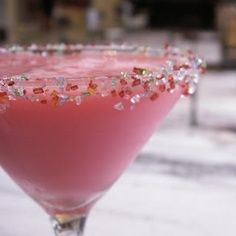 Sugar Plum Martini