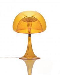 QisDesign LED-Tischleuchte Aurelia Table - Warmweiß, Orange, dimmbar