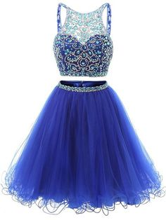Two Pieces Homecoming Dresses Homecoming Dresses Backless Prom Dresses Short Blue Homecoming Dresses Cute Prom Dresses Prom Dresses 2019 Two Piece Homecoming Dress, Cute Homecoming Dresses, Cute Dresses For Party, Blue Party Dress, Prom Dresses Two Piece, Backless Prom Dresses, Prom Dresses Blue, Sexy Dresses, Evening Dresses
