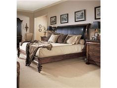 Shop for Century Furniture Napoleon Bed With Upholstery. standard King Size 6/6, 599-156, and other Bedroom Beds at Boyles Furniture in Mocksville, NC. Centurys Consulate Collection Reflects The Power And The Passion Of Two Of The Greatest Lovers Of All Time Napoleon and Josephine.