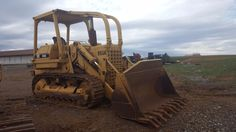 1967 Cat Caterpillar 955K Crawler Track Loader Diesel Tractor Construction OROPS