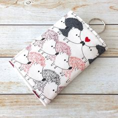 For The Love Of Hedgehog Credit Card Wallet ID by LittleMissPoBean