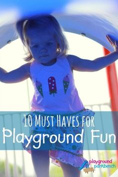 With 2 active kids under 4, we spend lots of time at the playground... see our 10 must haves to make our playground trips most successful - including a discount code for one of our favorite products!