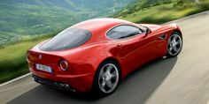 """""""The 8C reminded me of Zagato-bodied Alfa Romeos. They have extra bumps, extra shapes that are so beautiful. The moment the 8C came out as a showcar, it hit you. It was so sexy, so organically beautiful. It had a nostalgic purity that simply didn't exist in any other contemporary car."""" Photograph by Alfa Romeo   - RoadandTrack.com"""