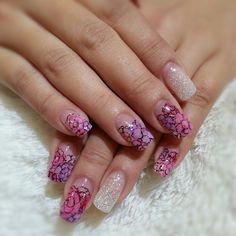 pink purple Botanka gel nail  #nails #nail #fashion #style #TagsForLikes #cute #beauty #beautiful#instagood #pretty #girl #girls #stylish #sparkles #styles #gliter #nailart #art #opi#photooftheday #essie #unhas #preto #branco #rosa #love #shiny #polish#nailpolish #pikapika_nails