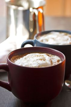 Pumpkin Spiced Latte   http://cookswithcocktails.com/pumpkin-spiced-latte/