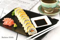 Madame Edith: Jak zrobić sushi w domu?