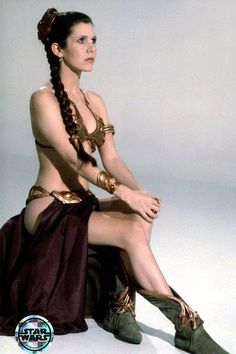 Princesa Leia Organa (Carrie Fisher):