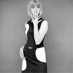 Black And White Fashion Photography in the 60's by John French
