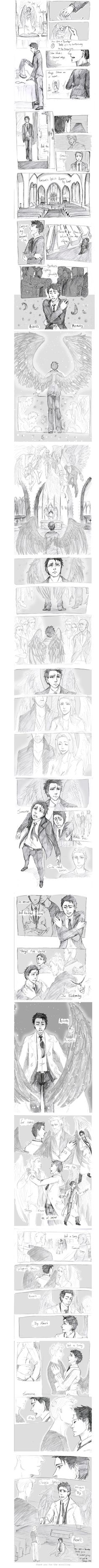 'Once Upon a December' Parody -Destiel- SPN by EspadaDina