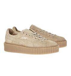 size 40 b2484 25e65 Rihanna Schuhe, Creeper Schuhe, Puma Schuhe Damen, Sneaker Kaufen, Damen  Mode 2017
