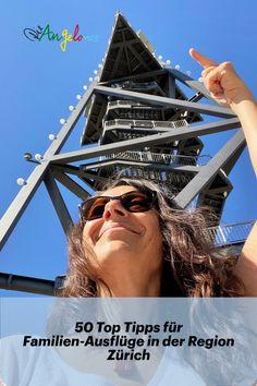 In der Region Zürich gibt es viele schöne Ausflugsziele für Familien. Fünfzig davon sind in der tollen ZVV-Freizeit-App zusammen gefasst. Das Beste dabei: Wer auf den Erkundungstouren die Freizeit-App nutzt, kann Punkte sammeln und sie gegen tolle Preise einlösen. #Ausflüge #Familie #DieAngelones S Bahn, Fair Grounds, Travel, Win Prizes, New Adventures, Family Getaways, Road Trip Destinations, Viajes, Trips