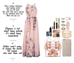 """""""Untitled #146"""" by sheo-fashion on Polyvore featuring Marchesa, Forever 21, Accessorize, Bling Jewelry, Bobbi Brown Cosmetics, Yves Saint Laurent and Lime Crime"""