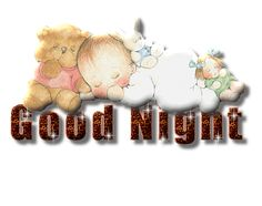 To Cute Night Graphics | Good Night Glitter Graphics And Greetings (23)