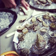 Oysters @Righteous Foods, Brooklyn