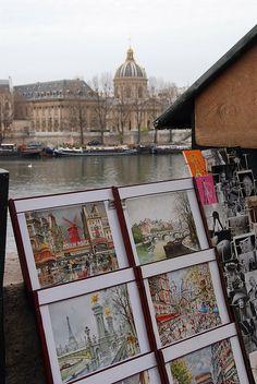 Paris en images  \\  Institut de France - 6ème arrondissement de Paris