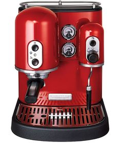 Coffee machine, (don't drink coffee but this is pretty!)...I do drink coffe and it's pretty!!