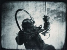 Alexei Leonov, on history's first space walk, outside Voskhod 2, CCCP march 18, 1965