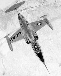 Lockheed XF-104 Starfighter  - cool plane with a cooler name