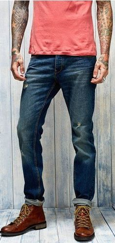 Mode Homme, Jeans Roulés, S habiller Pour Impressionner, Mode Masculine,  Cuisses 96aaadc45eb