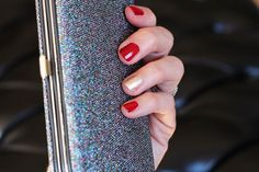 I'm not really a nail polish girl, but I did manage to put together a fun, sparkly look for the holidays. ‪#‎sallybeauty‬ ‪#‎ad‬