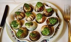 Snails in red wine