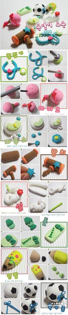 轻粘土制作...来自hong_doris的图片分享-堆糖