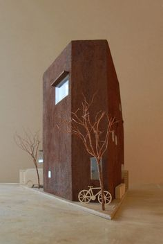 Model / Nerima Small Family House, Hiroshi Kikuchi architects, Tokyo, Japan, 2009 / residential architecture