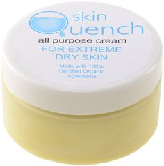 Skin Quench all purpose cream - this miraculous all-purpose formula will amaze you. The whipped blend of carefully chosen organic natural ingredients serves an astounding variety of purposes. Use it on your face as a cleanser, a facial moisturiser, an anti-ageing eye cream and facial oil that reduces visible fine lines and wrinkles... http://www.theremustbeabetterway.co.uk/skin-quench-all-purpose-cream.html