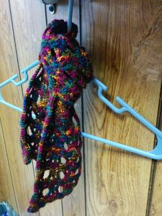 Handmade jeweltone scarf
