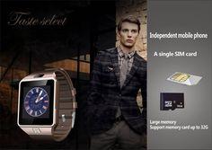 G1 smart watch for android phone support SIM/TF Pedometer  GPRS wearable reloj inteligente sport  wristwatch clock PK gt08 gv18
