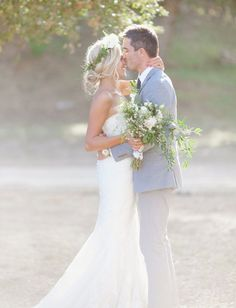 ranch bride and groom