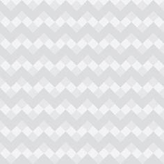 Pattern: Chevron Neue Gray and White Art Print by Jen Montgomery :) - $20