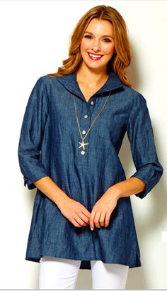 Philanthropic apparel designer Sara Campbell creates timeless silhouettes for women. Based in Boston, the collection is made in the USA. Boston Shopping, Winter Fun, Summer 2015, Tunics, Tunic Tops, Couture, House, Shirts, Clothes