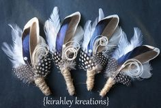 THANDION  A Rustic Something Blue Mallard by KirahleyKreations