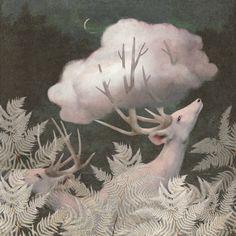 Catcher, Artsy Fartsy, Clouds, Moose Art, Painting, Instagram, Cinder, Wild Animals, Fields