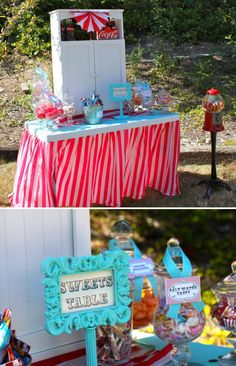 Vintage Carnival Party