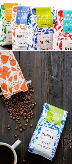 Coffee Packaging Design Curated by Little Buddha