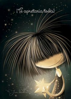 Puro pelo Regard Animal, Cute Images, Adorable Pictures, Moon Art, Mom And Baby, Cute Love, Stars And Moon, Cute Drawings, Cute Wallpapers