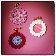 Fotolijstje haken patroon, photoframe Crochet pattern
