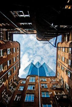 The sky's the limit, Warsaw, Poland