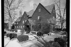 A literary road trip through New England - House of Seven Gables in Salem, MA
