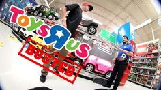 BUSTED FOR SKATING TOYS R US!! – Luis Mora: Source: luismoravids